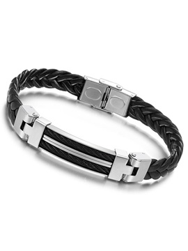 Handsome Weaved Style Men's Bracelet