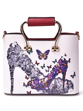 Personality Graffiti Print Women Satchel