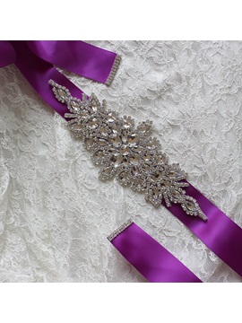 Diamond Beading Bridal Belt