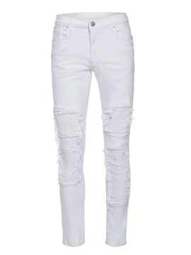 White Hole Men's Ripped Jeans
