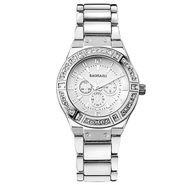 Six Pointer Alloy Imitation Diamond Watch