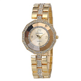 Creative Polygon Diamante Women Watch