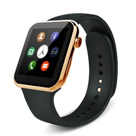 A9 Bluetooth Smart Watch Heart Rate Monitor Pedometer for iPhone & Samsung Android Phone