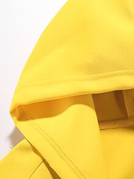 Tidebuy Color Block Hooded Men's Outfits