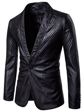 Tidebuy Notched Lapel Fit Men's Casual Blazer