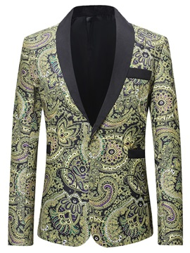 Luxurious Floral Men's Stylish Blazer