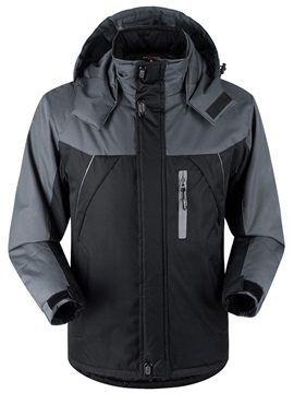 Men's European Thick Parka with Hood
