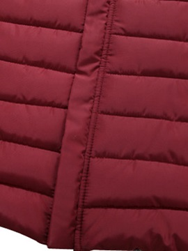 Solid Color Causal Men's Down Jacket