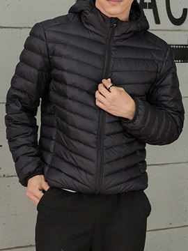 New Fashion Light Hooded Men's Down Jacket