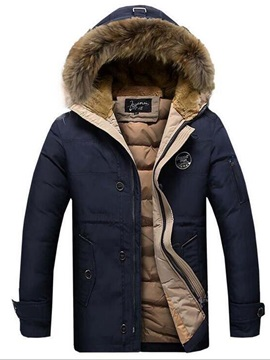 Tidebuy Hooded Thicken Warm Men's Down Jacket