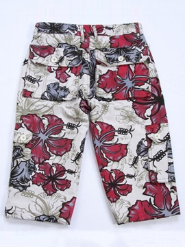 Floral Printed Men's Pants