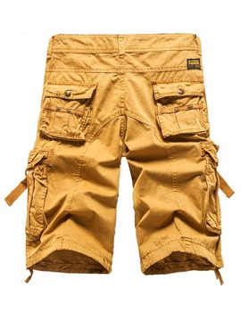Zipper Men's Pockets Overalls