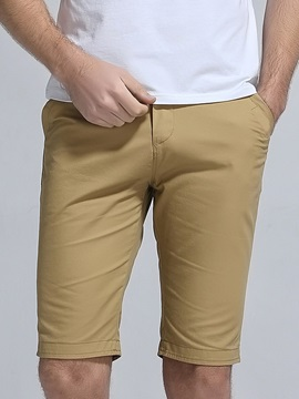 Solid Color Men's Casual Shorts
