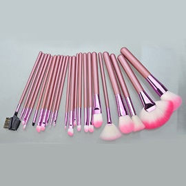 22 Pcs Artificial Fiber Cosmetic Brush Set