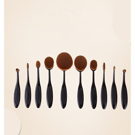 Super Densely Fine Fiber Foundation Brush 10/Set