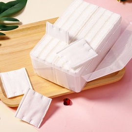 120 Pieces Thick Double Edge Pressing Cosmetic Cotton