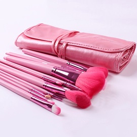 18 Pcs Nylon Fiber Make Up Brush Set