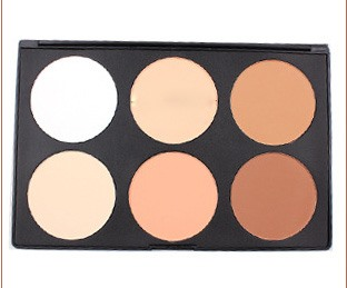 6 Colors Professional Concealer/Foundation/Bronzer Makeup Cosmetic Palette