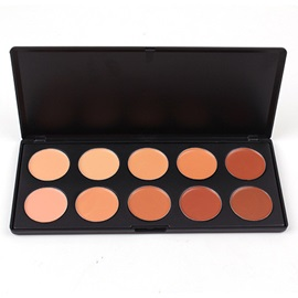 10 Colors Concealer/Foundation/Bronzer Palette