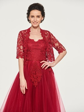 Lace Appliques Mother of the Bride Dress with Jacket