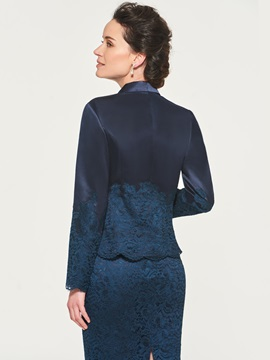 Formal Column Lace Mother of the Bride with Jacket