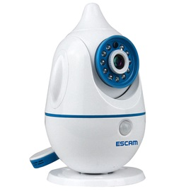 ESCAM QF521 WIFI IP Camera Baby Monitor Temperature Humidity Sensors Two Way Audio Monitor Alarm Night Vision