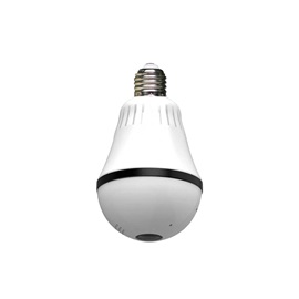 960P Wifi Wireless IP Bulb Security Camera with Fisheye Lens 360 Panoramic for Remote Home Security System