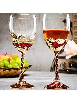 Luxurious Crystal Glass Toasting Flutes(Set of 2)