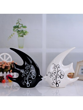 Simple Modern Ceraic Interior Furnishing Articles Home Decoration Crafts (Two Pieces)