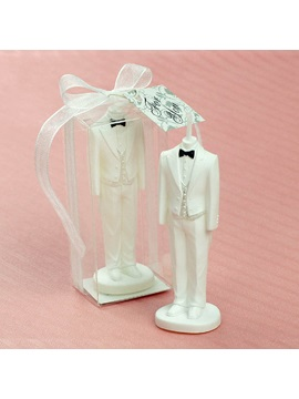 Bride and Groom Weeding Candle