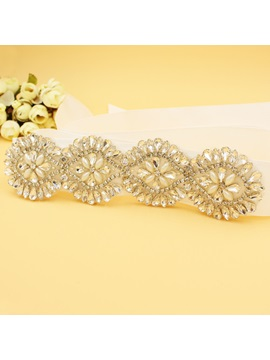 Galloon Regular(2-4cm) Rhinestone Bridal Belts 2019