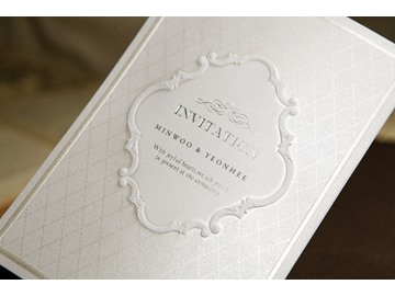 Simple Style And Tri-Fold Invitation Cards (20 Pieces One Set)