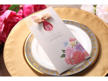 Perfet Wrap & Pocket Invitation Cards (20 Pieces One Set)