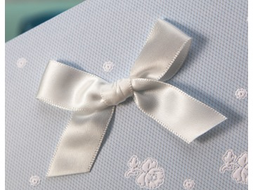 ClClassic Style Tri-Fold Invitation Cards With Bows/Ribbons (20 Pieces One Set)