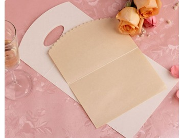 New Simple Style Hollow Out Design Wedding Invitation (20 Pieces One Set)