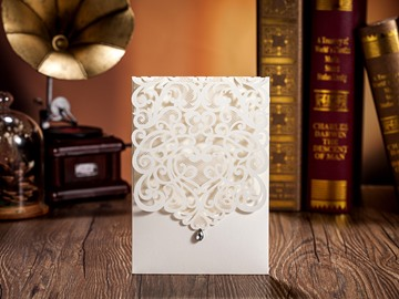 Cheap Online Wedding Invitations (20 Pieces One Set)