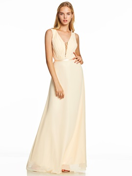 V Neck Sequins A Line Evening Dress & Under $100 under 500