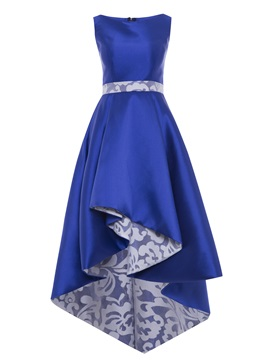 Scoop Sashes High Low Evening Dress & Under $100 under 100