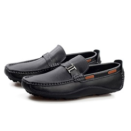 Buckles Thread Men's Loafers