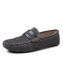Suede Slip-On Men's Casual Shoes