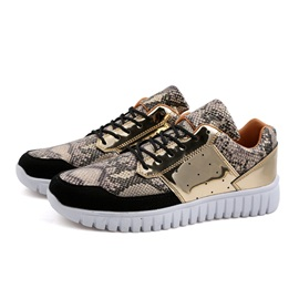 Breathable Lace-Up Front Men's Sneakers