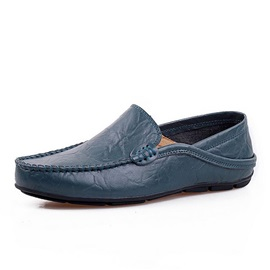 Solid Color Thread Loafers for Men