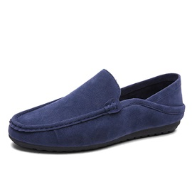 Spring Style Suede Loafers for Men