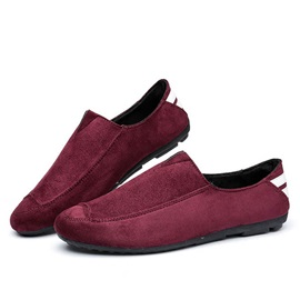 Cozy Suede Slip-On Loafers
