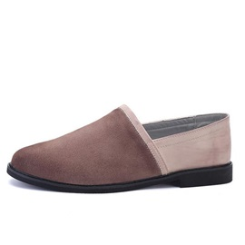 Retro Round Toe Slip-On Casual Shoes