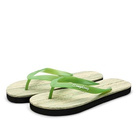 Simple Style Thong Beach Sandals for Men