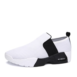 Contrast Color Mesh Slip-On Shoes for Men