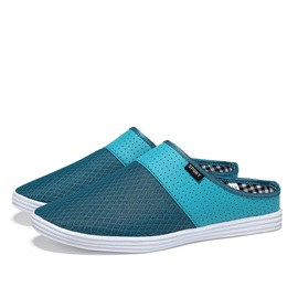 Breathable Mesh Slip-On Mules for Men