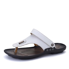 PU Thong Slingback Men's Beach Sandals