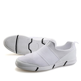 Breathable Mesh Round Toe Men's Casual Shoes